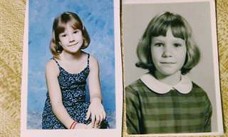 22 Fotos de Membros da Família de Diferentes Gerações Que Poderiam Ser Gêmeos!