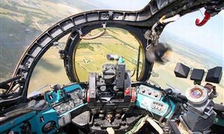 13 Super Aviões e Helicópteros e Suas Cabines de Pilotagem. Confira!