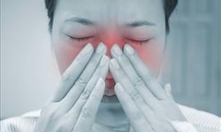8 Maneiras de Acabar Com a Infecção Sinusal!