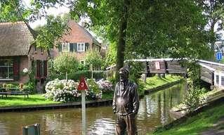 Giethoorn: A Veneza Holandesa