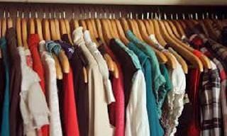 Piada: Doações de roupas