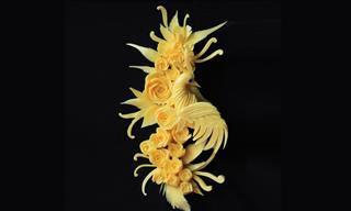 As esculturas em sabonetes de Daniele Barresi