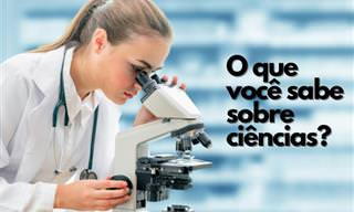 Teste seus conhecimentos científico com nosso quiz!