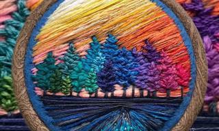 Esta artista russa eleva o nível da pintura de agulha