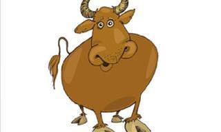 Piada: Conversa entre touros