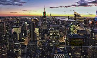 Nova Iorque, você é linda, principalmente vista de cima!
