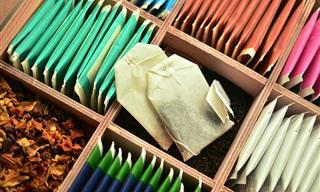 Conheça 16 Diferentes Utilidades do Chá!