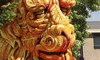 Conheça o Incrível Desfile Anual de Flores em Zundert na Holanda!