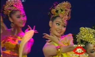 A Belíssima Dança Chinesa dos Vaga-lumes