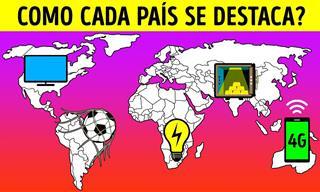 O que cada país do mundo tem de melhor?