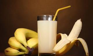 8 Benefícios do Suco de Banana
