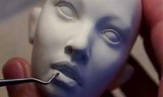 Bonecas de Porcelana Que Parecem Reais