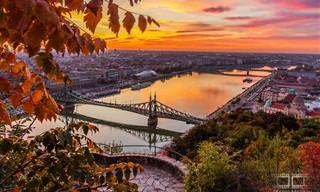 Série de Fotos de Budapeste no Outono