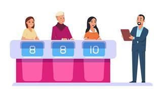 Piada: A mulher e o concurso na TV