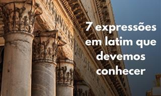 7 expressões em latim que todos deveriam saber