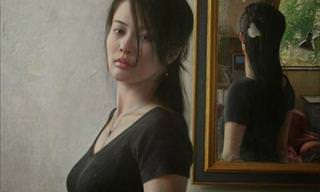 Pintura a Óleo por Osamu Obi