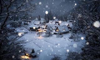 O Japão fica ainda mais encantador durante o inverno!