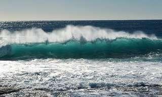 A Beleza das Cores do Mar