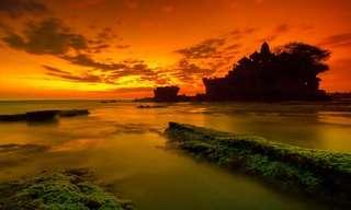 Os Belos Templos de Bali