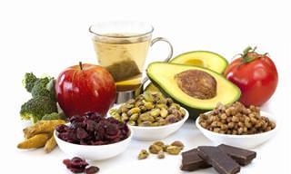 10 Alimentos antienvelhecimento e que previnem doenças!