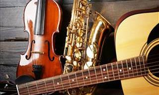 Seleção Musical de 12 Instrumentos Musicais Incríveis