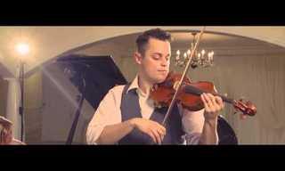 Este Violinista Encheu Meus Olhos!