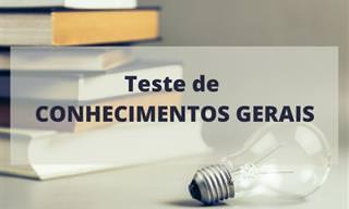 TESTE: Que tal um teste sobre conhecimentos gerais?