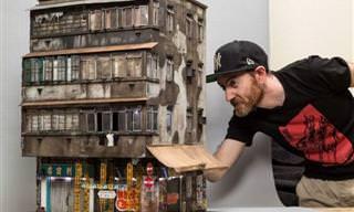 Artista Australiano Recria Uma Cidade em Miniatura de Forma Incrível