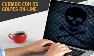 Atenção! Previna-se contra 10 mais comuns golpes on-line