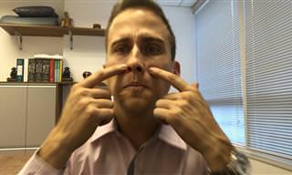 Dica de ouro: Como desentupir o nariz em 5 segundos!