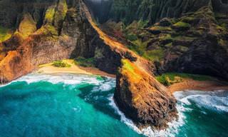 Belas Praias Vistas de Cima!