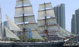Os 10 Navios Mais Antigos do Mundo Que Ainda Navegam