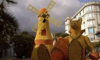 La Fête du Citron - O Festival do Limão