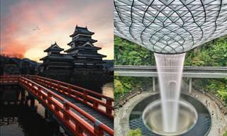 24 Fotos que destacam a beleza dos edifícios no mundo
