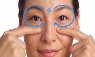 7 Pontos de Pressão Que Vão Melhorar a Saúde dos Seus Olhos
