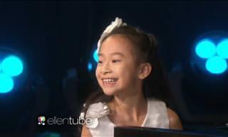 Essa criança é de verdade? Que pianista incrível!