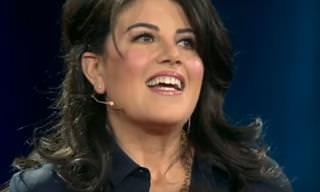Por onde anda Monica Lewinsky? Aqui está ela!
