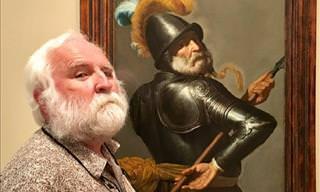 Você poderia encontrar seu sósia em um museu de arte!