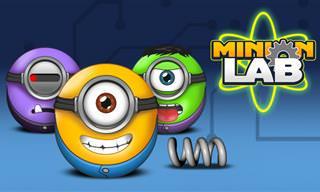 Ajude os Minions a Chegar aos Seus Lugares no Laboratório!
