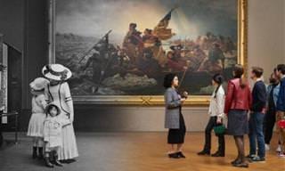Nada resiste ao tempo: 16 imagens de antes e agora