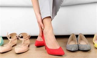 Sapatos Que Você Não Deve Usar Com Frequência