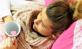 10 Hábitos Que Aumentam o Risco de Gripe