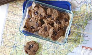 Receita Prática e Saudável: Cookie Que Não Vai ao Forno!