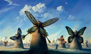 Admire as Incríveis Pinturas Surrealistas de Vladimir Kush