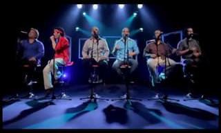 Uma bela canção: Hotel California sem nenhum instrumento!
