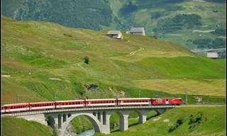 7 das Mais Belas Viagens de Trem do Mundo!