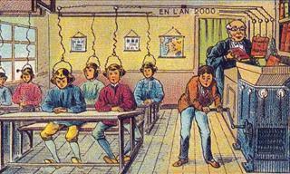 Cartões-Postais da Previsão do Futuro do Século XIX