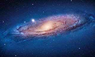 Veja Detalhes Incríveis da Galáxia de Andrômeda!