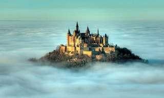 A Beleza Mágica De 16 Castelos