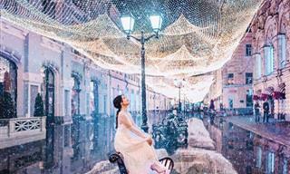 Moscou no inverno é um conto de fadas